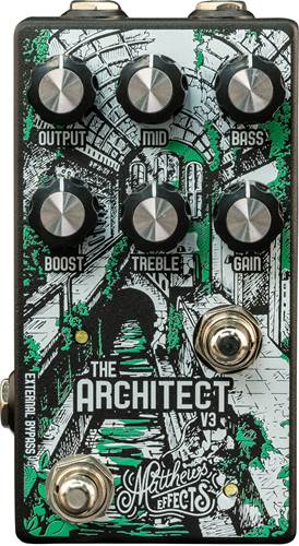 Matthews Effects Architect v3 Overdrive and Boost