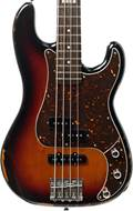 ESP E-II Vintage Four PJ 3 Tone Sunburst