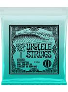 Ernie Ball 2326 Black Ukulele Strings (Concert or Soprano)