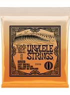 Ernie Ball 2329 Clear Ukulele Strings (Concert or Soprano)