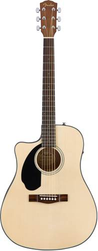 Fender CD-60SCE Natural LH WN