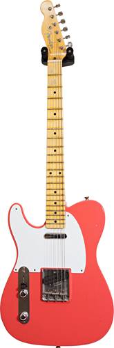 Fender Custom Shop 1956 Tele Journeyman Super Faded Aged Fiesta Red LH #R100511