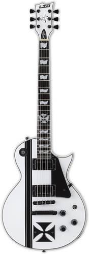 ESP LTD Iron Cross James Hetfield Snow White