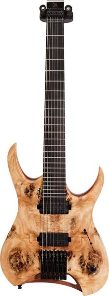 Mayones Hydra Elite 7 Natural Eye Poplar Top Seymour Duncan Nazgul/Sentient Set