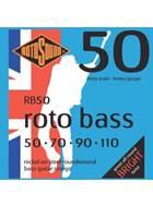 Rotosound RB50 Rotobass Heavy Nickel 50-110