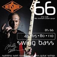 Rotosound BS66 Billy Sheehan Steel Bass Set 43-110