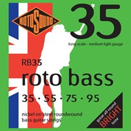 Rotosound RB35 Rotobass Light Nickel Set 35-95