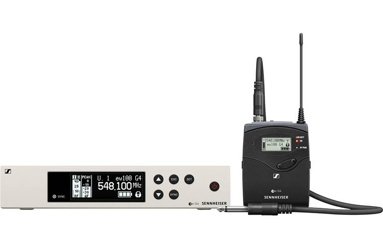 Sennheiser EW100 G4 Ci1-GB Instrument Wireless System