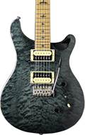 PRS SE Custom 24 Ltd Edition Grey Black Quilt Roasted MN