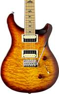 PRS SE Custom 24 Ltd Edition Tobacco Sunburst Quilt Roasted MN