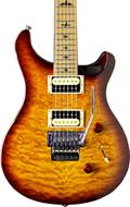 PRS SE Custom 24 Ltd Edition Floyd Tobacco Sunburst Quilt Roasted MN