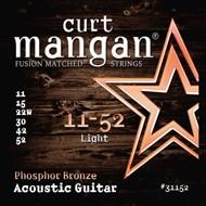Curt Mangan 31152 Phosphor Bronze Acoustic Light 11-52