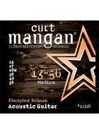 Curt Mangan 31356 Phosphor Bronze Acoustic Medium 13-56