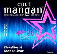 Curt Mangan 44095 Nickel Wound Bass Extra Light 40-95