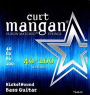 Curt Mangan 44410 Nickel Wound Bass 40-100