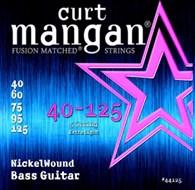 Curt Mangan 44125 Nickel Wound 5-String Bass Light 40-125