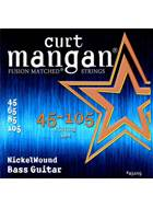 Curt Mangan 45105 Nickel Wound Bass Light 45-105