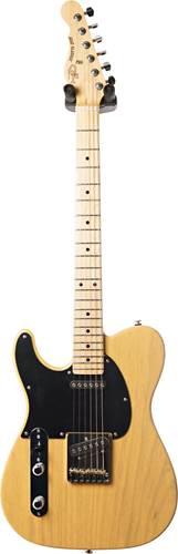 G&L USA Fullerton Deluxe ASAT Classic Butterscotch Blonde MN LH