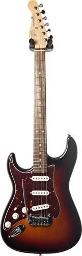 G&L USA Fullerton Deluxe Legacy 3-Tone Sunburst CR LH