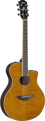 Yamaha APX600FM Flame Maple Amber