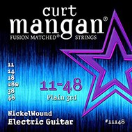 Curt Mangan 11148 Nickel Wound Electric 11-48