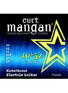 Curt Mangan 11052 Nickel Wound Electric 10-52