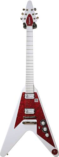 Epiphone Dave Rude Flying V Outfit Alpine White