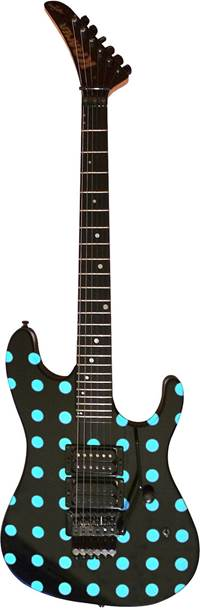 Kramer Nightswan Black/Blue Dot