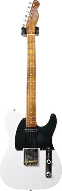 Fender Custom Shop 1953 Telecaster Journeyman Relic White Blonde Maple Fingerboard Master Builder Designed by Paul Waller #R99151