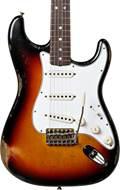 Fender Custom Shop 1965 Strat Relic 3 Tone Sunburst RW Masterbuilt by Kyle McMillin #R97930
