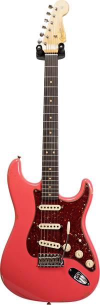 Fender Custom Shop 1963 Stratocaster Relic Faded Fiesta Red RW #R98709