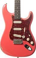 Fender Custom Shop 1963 Strat Relic Faded Fiesta Red RW