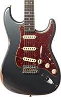 Fender Custom Shop 1963 Strat Relic Charcoal Frost Metallic RW
