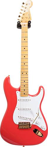 Fender Custom Shop 1959 Strat NOS Fiesta Red Gold Hardware MN Master Builder Designed by Greg Fessler