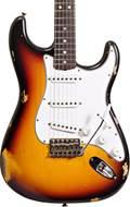 Fender Custom Shop 1965 Strat Relic 3 Tone Sunburst RW #R100352