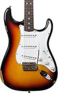 Fender Custom Shop 1965 Strat Relic 3 Tone Sunburst RW #R94379