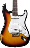 Fender Custom Shop 1965 Strat Relic 3 Tone Sunburst RW #CZ543423