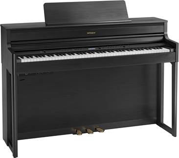 Roland HP704-CH Digital Piano Charcoal Black