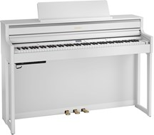 Roland HP704WH Digital Piano Polished White