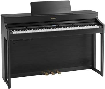 Roland HP702-CH Digital Piano Charcoal Black