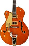 Gretsch G5420TGLH-59 Electromatic Vintage Orange Stain w/ USA Bigsby