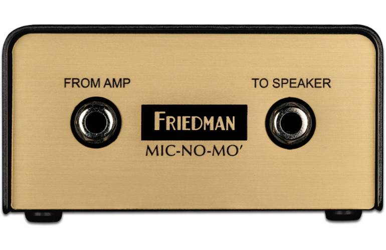 Friedman Mic No Mo Passive Guitar Cabinet Emulated DI