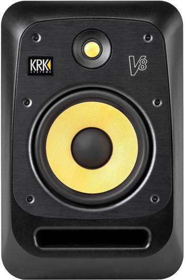 KrK V8S4 Black Active Monitor (Single)