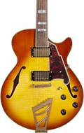 D'Angelico Excel SS Stairstep Iced Tea Burst