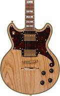 D'Angelico Deluxe Brighton Natural Swamp Ash