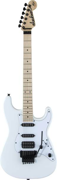 Jackson X Series Adrian Smith SDX Snow White w/ White Pickguard MN