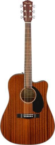 Fender CD-60SCE All Mahogany Walnut Fingerboard