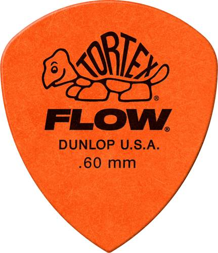 Dunlop 558P.60 Tortex Flow Standard Player Pack 12