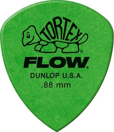 Dunlop 558P.88 Tortex Flow Standard Player Pack 12