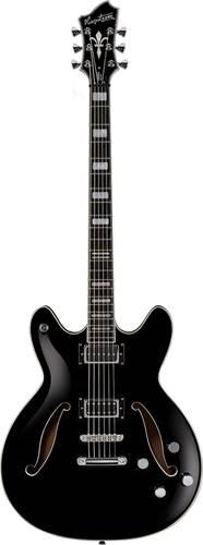 Hagstrom Viking Deluxe Baritone Black Gloss